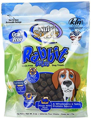 Nutrisource Grain Free Rabbit Bites Dog Treats ()
