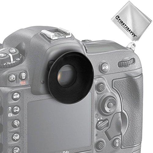 - First2savvv Rubber Eyepiece Eyecup Magnifying Eyepiece for Nikon D610 D600 D300S D7200 D7100 D7000 D90 D300 D200 D80 D70 D70S D60 DSLR Camera DK-21 DK-23 QJQ-OX-N-01