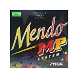 Stiga Mendo MP Table Tennis Rubber , Red , Max Sponge Thickness