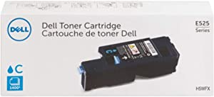 Dell H5WFX Cyan Toner Cartridge for E525w Laser Printer, 1 Size