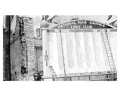 1917 Snapshot Photo Poster Lexington Kentucky WWI Monument