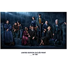 RARE POSTER thick eddie redmayne FANTASTIC BEASTS: THE CRIMES OF GRINDELWALD movie REPRINT #'d/100!! 12x18