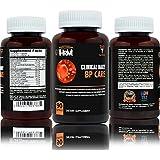 CLINICAL DAILY BP Care. Advanced Vasodilator Complex. Supports blood pressure control with Garlic, Hibiscus, Olive Leaf, Hawthorne, Buchu leaf and essential vitamins B6, B12, C, Niacin. 90 capsules.