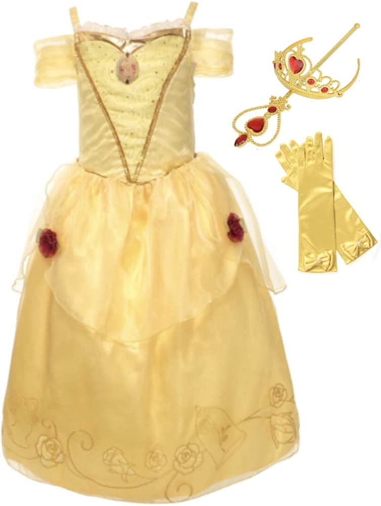 Amazon.com: Belle Dress – Cojín, diseño de vestido, tiara ...