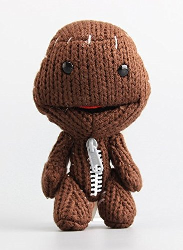 Costumes All Sackboy (Little Big Planet Sackboy Sack Boy 6 Inch Toddler Stuffed Plush Kids Toys)