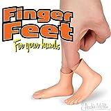 Finger Feet (5 Total Finger Feet) Bulk [Assorted Colors]