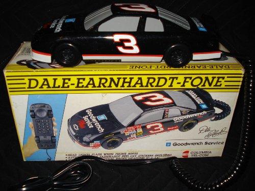 Dale Earnhardt #3 Car Shaped Telephone