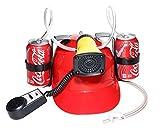 dg soda - Beer Cola Soda Helmet Hard Hat Can Holder Drink Night Party Game w/ Siren 7 Different Sounds -Dg Sports