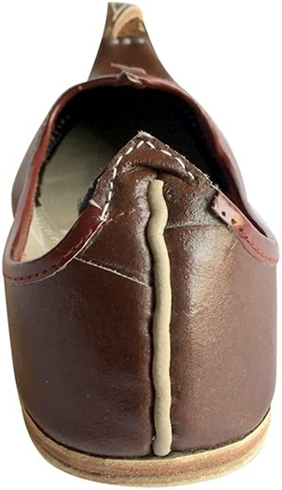 Step n Style Men Handmade Traditional Zari /& Tilla Work Leather Khussa Ethnic Jutti