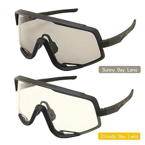 Amazon.com: EnzoDate - Gafas de ciclismo MTB para deportes ...