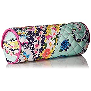 Vera Bradley Iconic on a Roll Case, Signature Cotton, Wildflower Paisley