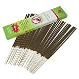 Vigood Mosquito Most Flying Bugs Repellent Incense Sticks - 100% All Natural DEET Free - Bamboo Infused Natural Herbs Fragrant Smell - Non Toxic Insect Repellent - Burns 100 Mins Pack of 40