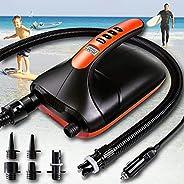 Paddle Board Pump,SUP Air Pump 20PSI High Pressure,Electric Portable Pump,12v Air Pump,Intelligent Dual Stage