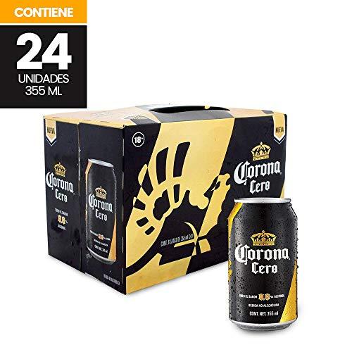 Cerveza sin alcohol Corona Cero 24 Latas de 355ml