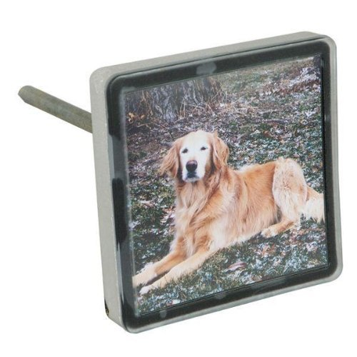 Pet Memory Stones, Memorial Headstone, Small with Customizable Photo - Mall Memorial