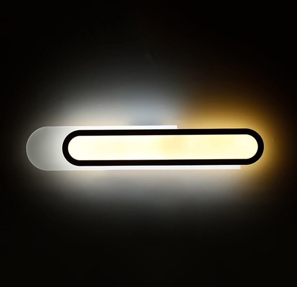 badezimmerlampe Moderne Badezimmer Kommode Spiegel Licht Spiegel Frontleuchte LED Wasserdicht Nebel WC Badezimmer Lampe (Größe   45cm)