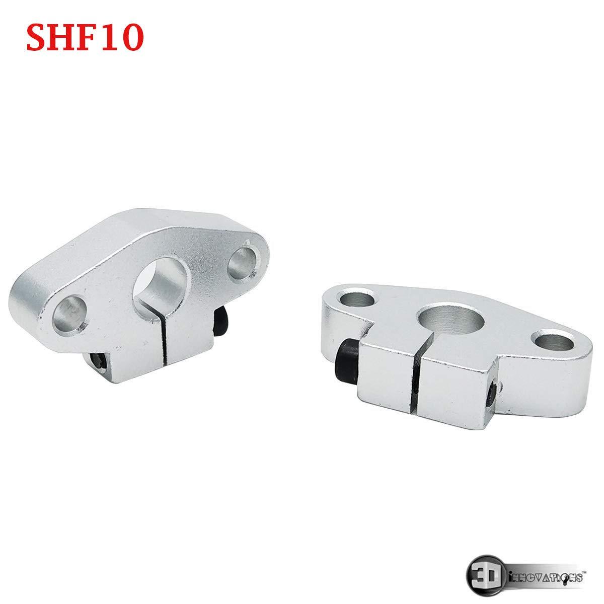 1X SHF10 10mm Flange Mount Linear Rail Shaft Support Linear Rod shaft Support