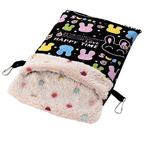 - Bvanki Parrot Toy, Parrot Sleeping Hut, Bird Pet Blanket Mat, Hamster Sleeping Bag, Cotton Bed Animal Nest for Small and Medium Amazon Parrot Hamster Chinchilla Rabbit Squirrel