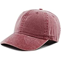 THE HAT DEPOT 100% Cotton Pigment Dyed Low Profile Six Panel Cap Hat