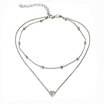 16ce86d2ac Coedfa New Fashion Necklace,Choker Boho Gold Color Chain Tiny Star Maxi Choker  Necklace for