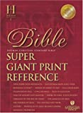 HCSB Super Giant Print Reference Bible, Holman Bible Staff, 1586402684