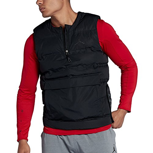Jordan Nike Mens 23 Tech Training Vest - Black (X-Large) by Jordan