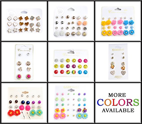 Belle Donne Earring Sets For Girls / Women - Jewelry Sets On Cards