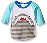 Mud Pie Baby Boys' Shark Flap Mouth Shirt