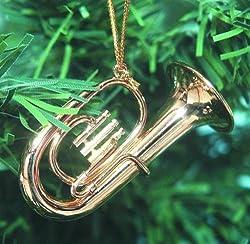 Tuba / Baritone Horn Christmas Ornament
