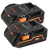 VINIDA 18V 2.0Ah Lithium-ion AEG R840085 Replacement Battery for RIDGID 18 Volts R840083 R840084 R840085 R840086 r840087 AC840085 Cordless Drill Tools