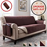 Vailge Anti-Slip Sofa Cover, Waterproof Sofa Covers for Dogs, Couch Covers for Dogs