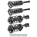 As one of the world's largest automotive parts suppliers, our parts are trusted every day by mechanics and vehicle owners worldwide. This Shock and Strut Set is manufactured and tested to the strictest OE standards for unparalleled performance. Built...