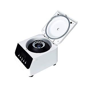 JIAWANSHUN PRP Centrifuge Machine for Blood Lab Centrifuge Machine 4000r/min 99min with Rotor(15ml x 12, 110V)