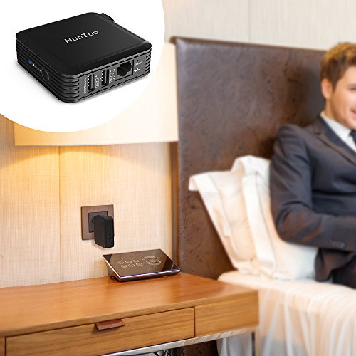 HooToo TripMate Elite Travel Wireless Router, 6000 mAh - Import It All