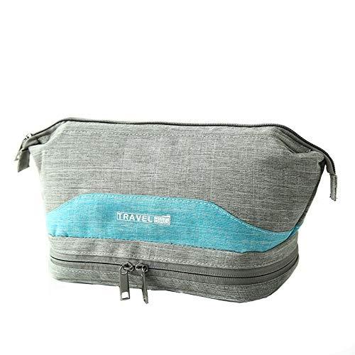 viaggio cosmetica borsa spazioso da molto portatile grigio Borsa un e versatile per wgtqPfgd5x