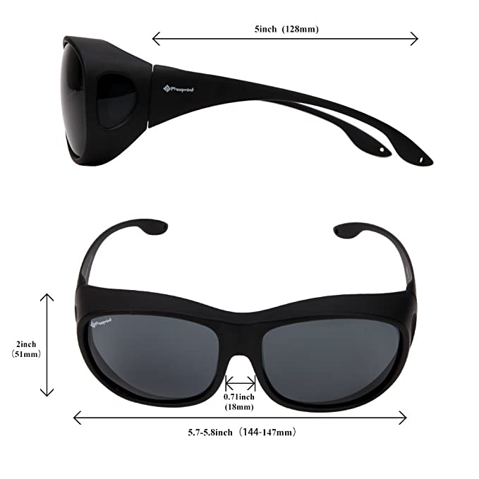 Amazon.com: Freeprint Gafas para sol polarizadas adecuado ...