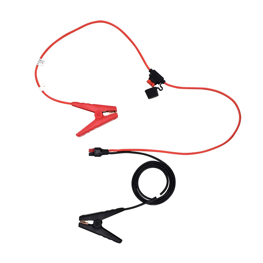 Renogy Alligator Clip 12AWG Cable to Anderson Powerpole Connector, red