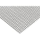 """304 Stainless Steel Woven Mesh Sheet, Unpolished (Mill) Finish, ASTM E2016-06, 12"""" Width, 12"""" Length, 0.009"""" Wire Diameter, 73% Open Area"""