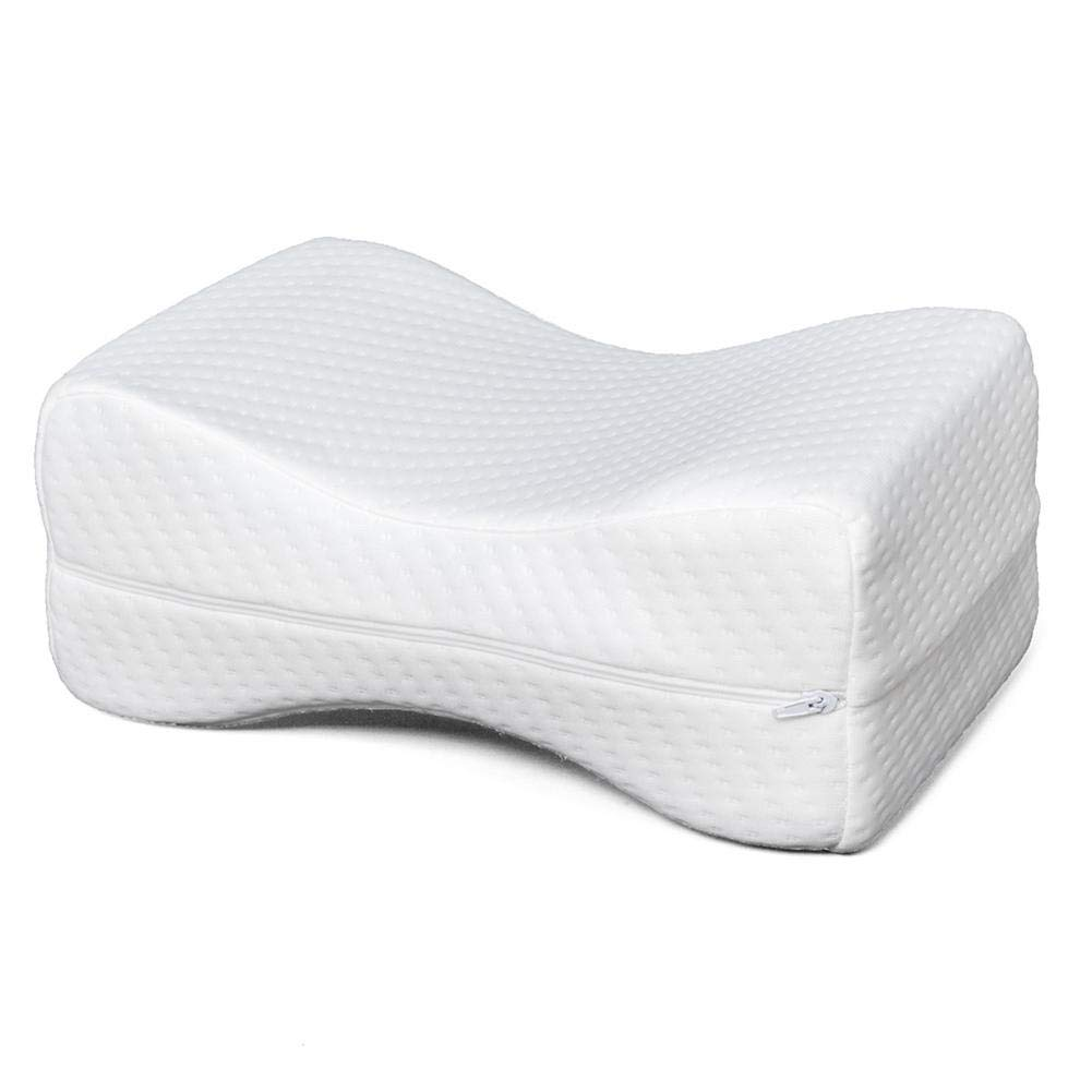 Rainrain27 11' 7' 4.5' Sleep Restoration Double-Sided Grooved Memory Foam Leg Support Pillow