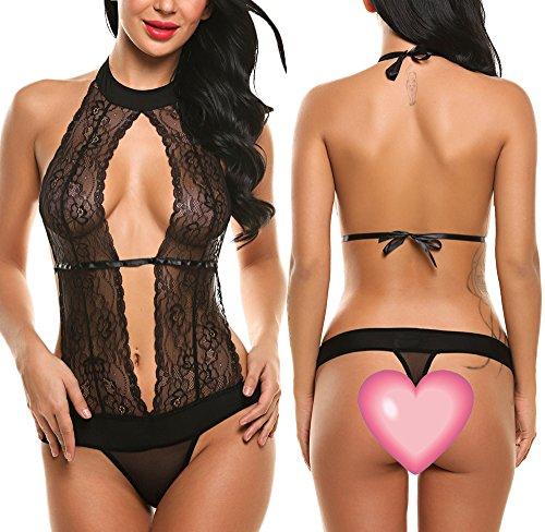 Avidlove-Women-Sexy-Lingerie-Lace-Halter-One-Piece-Teddy-Babydoll-Bodysuit