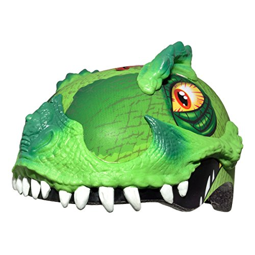 Raskullz 2015 Boy's T-Rex Awesome 5+ Kids/Youth Bicycle Helmet (Green - 50-54cm) ()