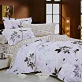 Blancho Bedding - [Faint Aroma] 100% Cotton 3PC Comforter Cover/Duvet Cover Combo (Twin Size)