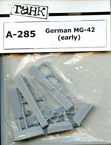 TAHK Tank 1:35 German MG-42 Machine Gun Early Ver. Resin Figure Accessory #A-285 - German Mg42 Machine Gun