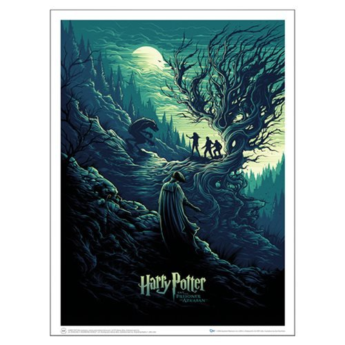 Click for larger image of QMX Harry Potter and the Shadow of the Werewolf 18 x 24 inch Art Print Poster