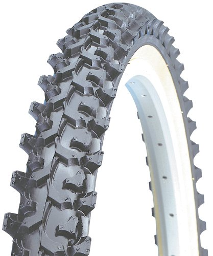 Kenda K850 Aggressive MTB Wire Bead Bicycle Tire, Blackskin, 26-Inch x 1.95-Inch