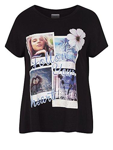 Zizzi Camiseta tallas grandes Mujer negro