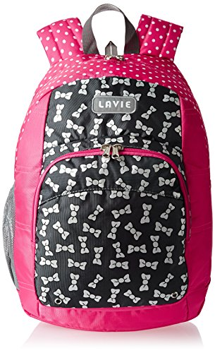 Lavie Pink Casual Backpack (BLEI925022D3)