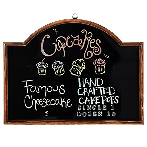 MyGift Chalkboard Wall Mounted Erasable Message