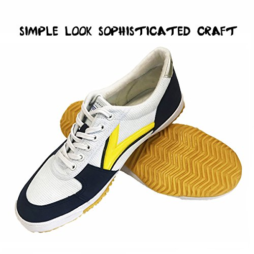 DOUBLESTAR MR Classical Lightweight Kung Fu Shoes,White,US 10.5Men/ US 11 Women