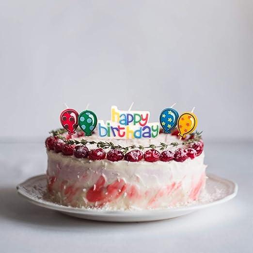 Velas de cumpleaños de Speppav, decoración para tarta de ...